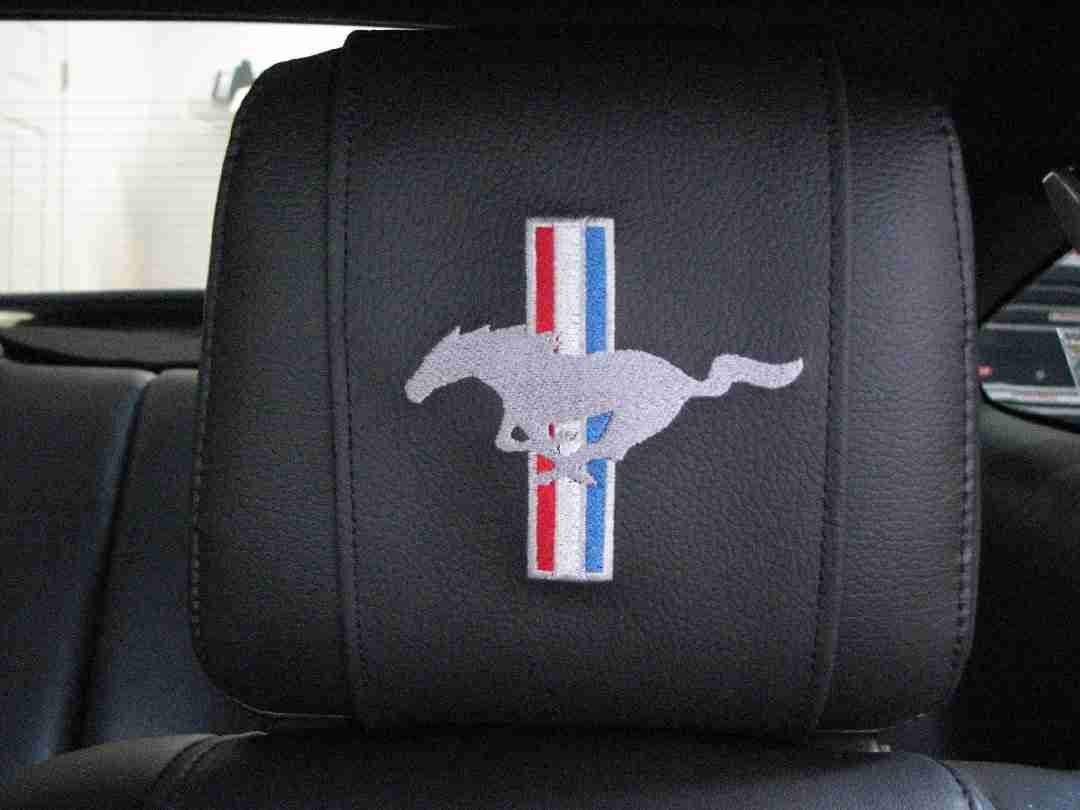 MDM Head Rest Wrap for the 2005 and UP Ford Mustang